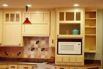 Cabinet Painting by All City Construction and Remodeling
