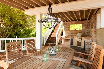 Deck building by All City Construction and Remodeling