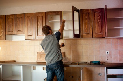 Cabinet Installation in Maywood by All City Construction and Remodeling