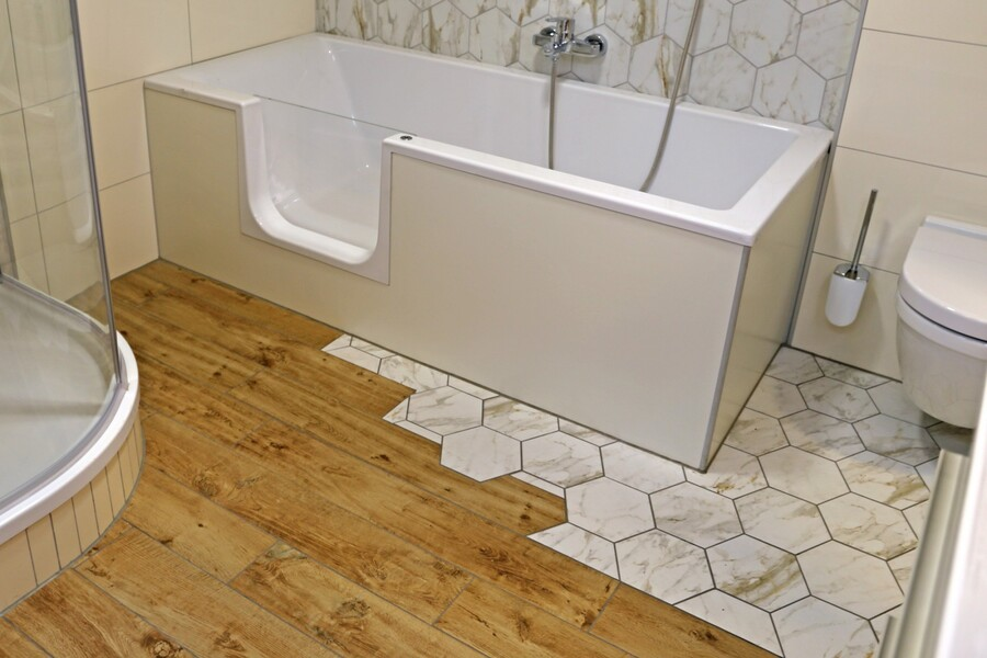 Bathroom Accessibility Improvements by All City Construction and Remodeling