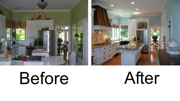 Before and After Interior Painting