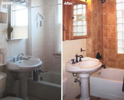 Photos by all city construction and remodeling for Bathroom remodeling contractor los angeles